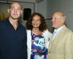 alex with diane von furstenberg&barry diller